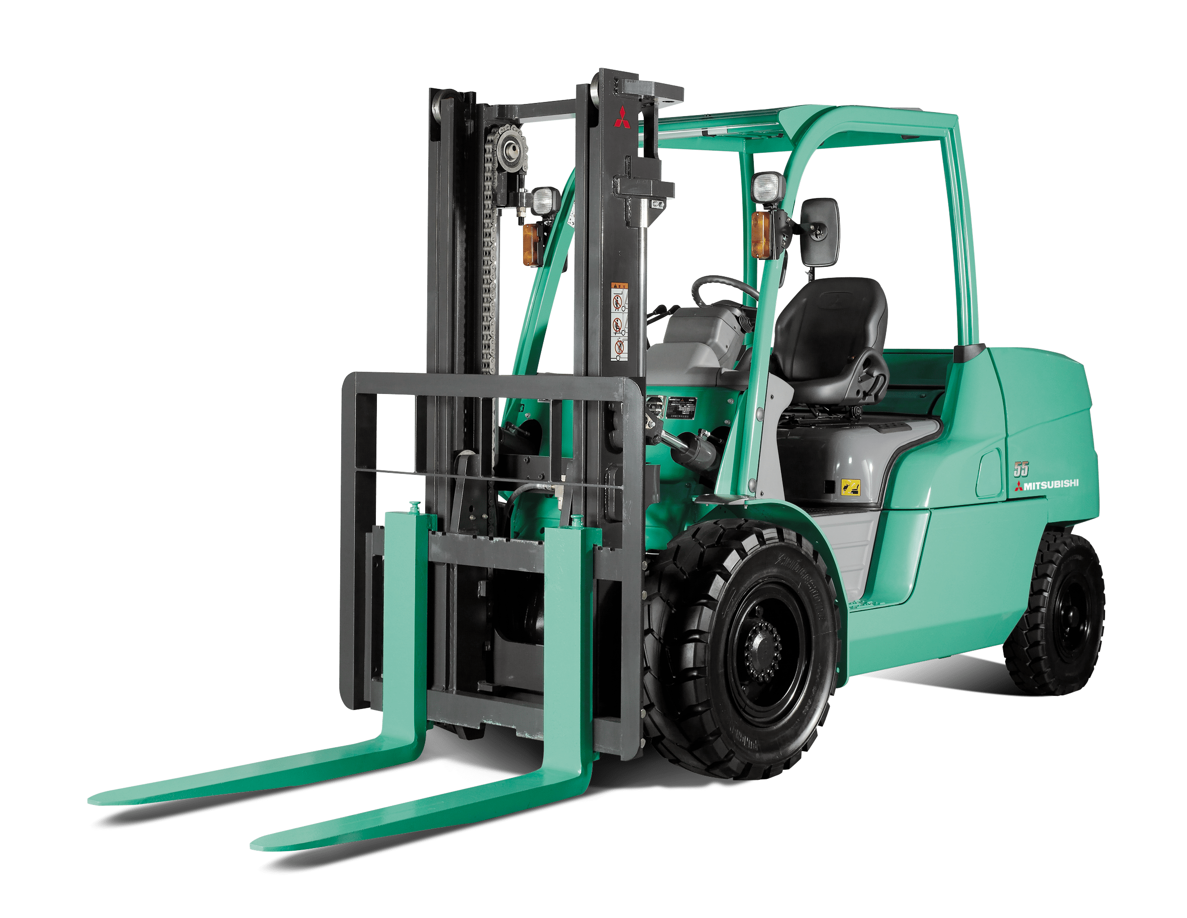 FD-40 – FD55 Mitsubishi Forklifts for rental at Goldbell Singapore