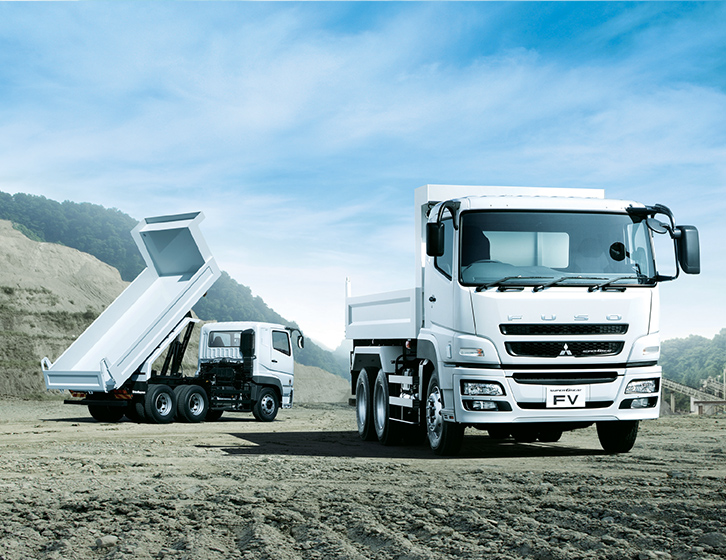 Buy Mitsubishi Fuso Super Great Trucks at Goldbell Singapore
