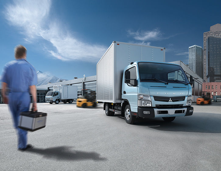 Buy Mitsubishi FUSO Canter Lorry at Goldbell Singapore