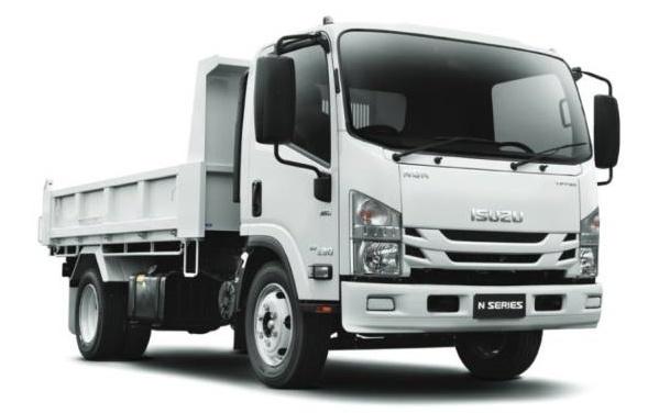 Isuzu commercial truck rental at Goldbell Singapore