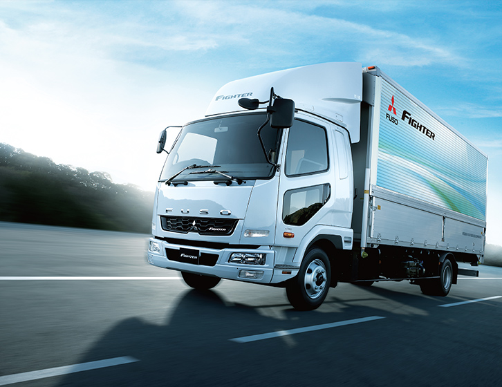Buy Mitsubishi Fuso Fighter Lorry at Goldbell Singapore