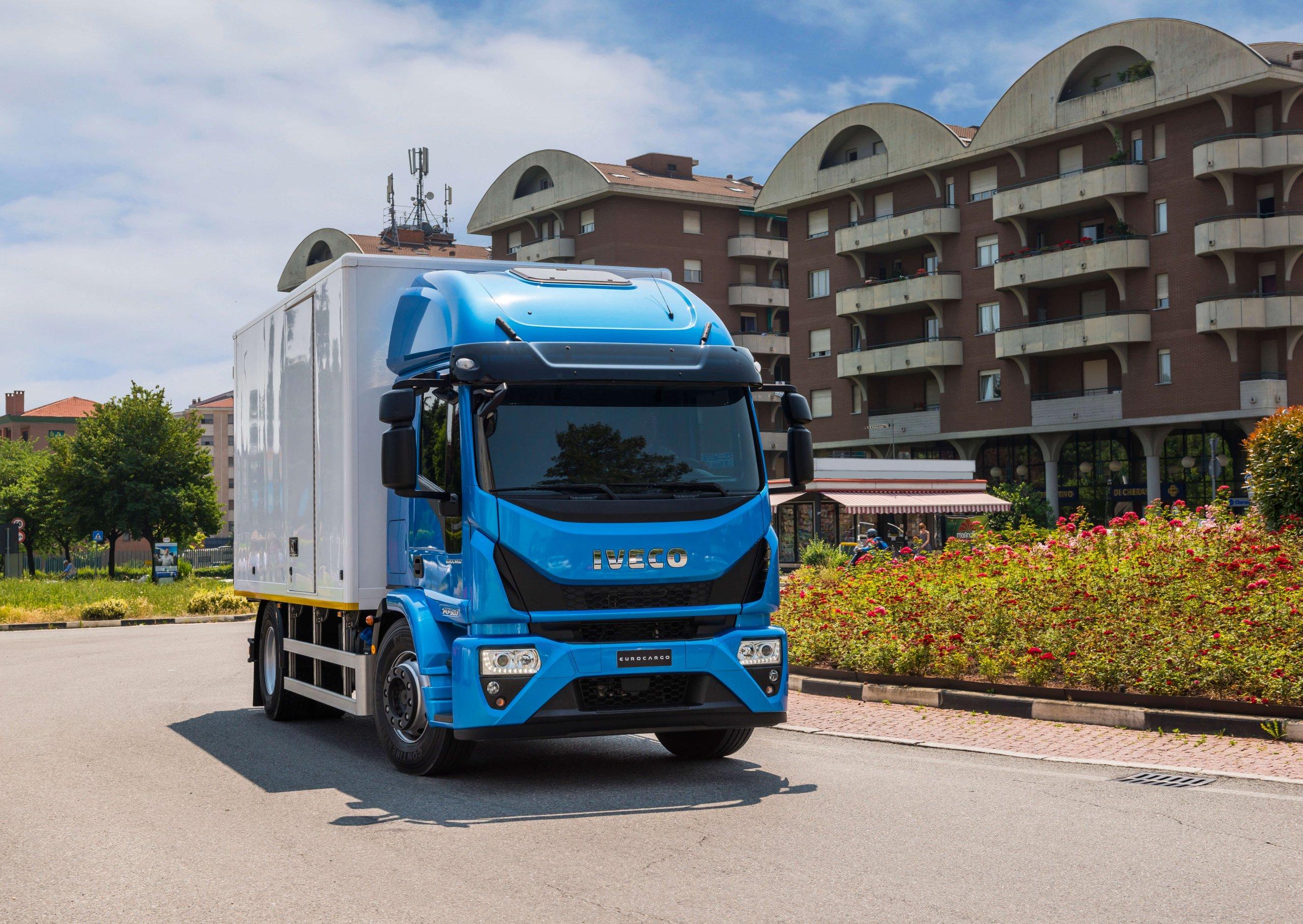 Buy IVECO medium-duty truck at Goldbell Singapore