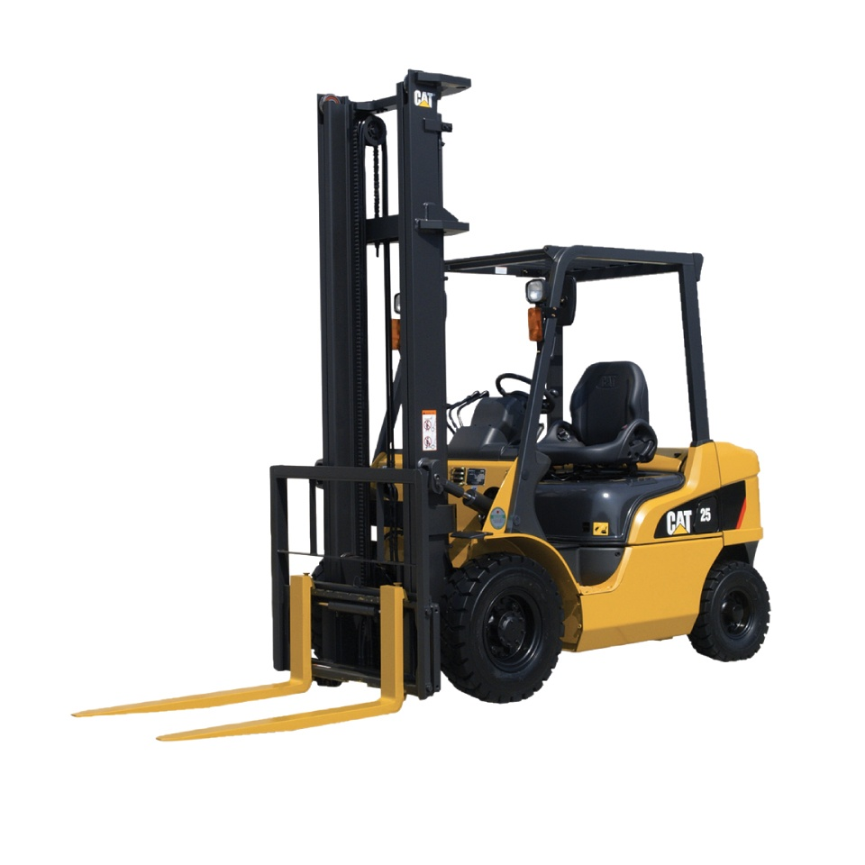 DP15-35N CAT Forklifts for rental at Goldbell Singapore