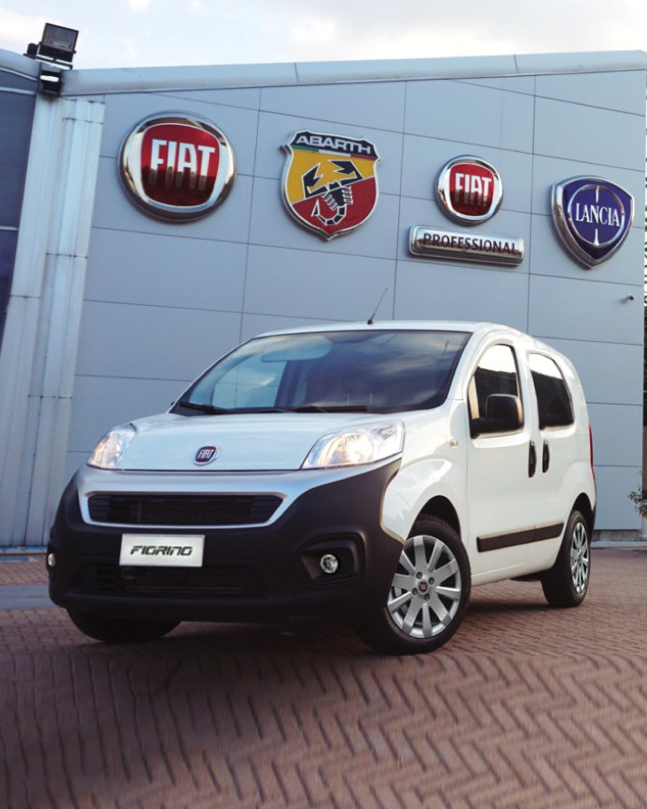 Buy Fiorino cargo van at Goldbell Singapore