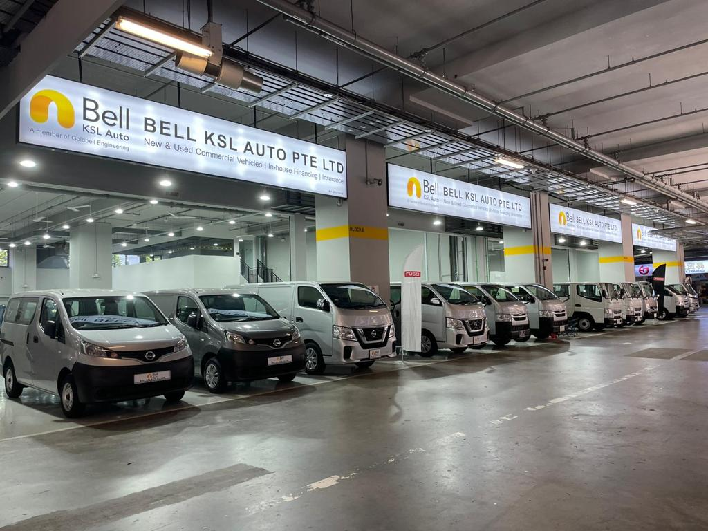 Used vans for sale in Bell KSL Auto, North Singapore